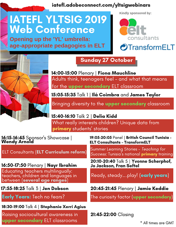 Opening the 'YL' Umbrella: Age-Appropriate Pedagogies in ELT