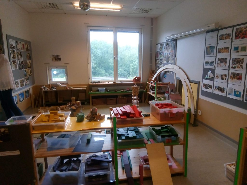 Environmental Education at its Best - A Visit to a Swedish Preschool in Stockholm - math corner