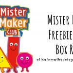 Mister Maker – Craft Box Review (First Box Free)