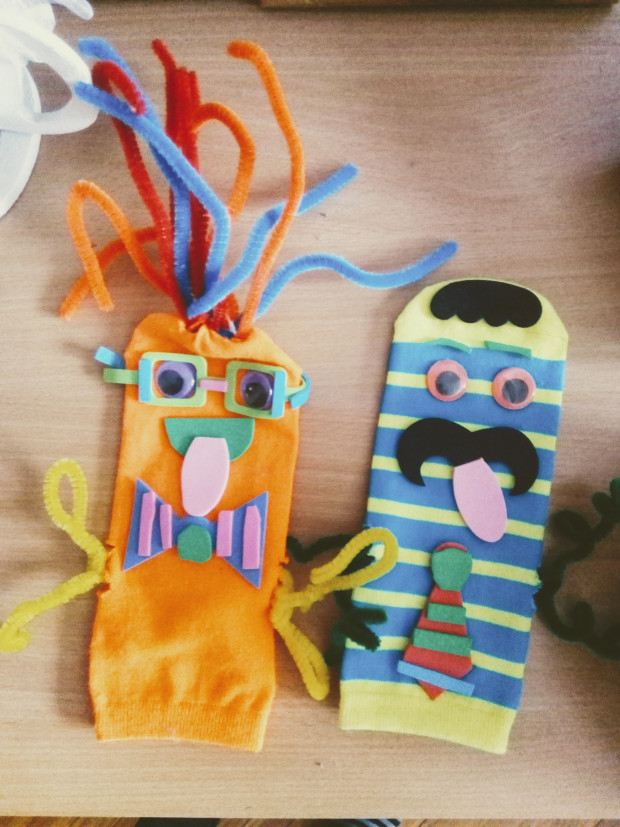 Mister Maker craft box puppets