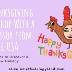 A Thanksgiving Workshop – Lesson Activities to Discover a New Holiday