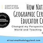 How National Geographic Certified Educator Course Changed my Perspective on the World and Teaching + Course Overview