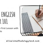 Online English Teacher 101 – Steps / Ideas for the First Lesson With New Students + Freebie Interactive Material