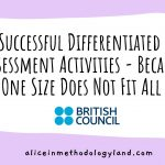 Successful Differentiated Assessment Activity Examples – Because One Size Does Not Fit All