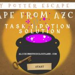 Harry Potter Escape Room Professional Development for Teachers – ROOM 1 – The Potion Solution
