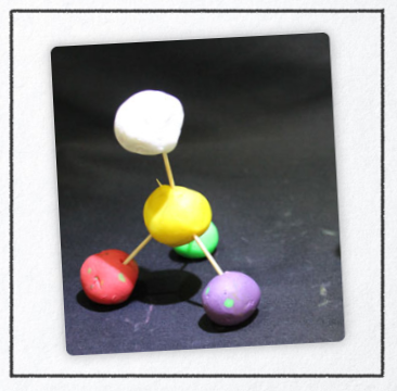 Example 1 - Free dramatization - Edible atom models
