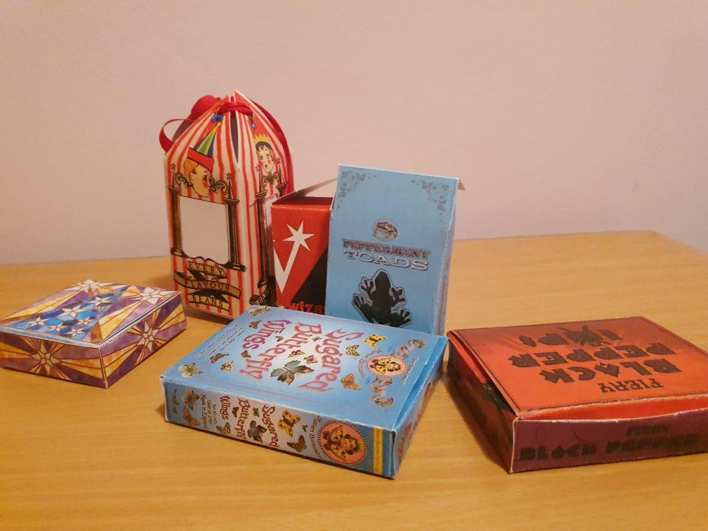 Harry Potter candy boxes escape room Horcrux