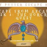 Harry Potter Escape Room Professional Development for Teachers – ROOM 3 – The Horcrux Quest