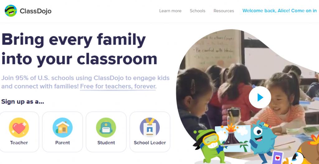 online preschool activities class dojo