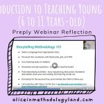 An Introduction to Teaching Young Learners (6 to 11 Years-old) – Preply Webinar Reflection