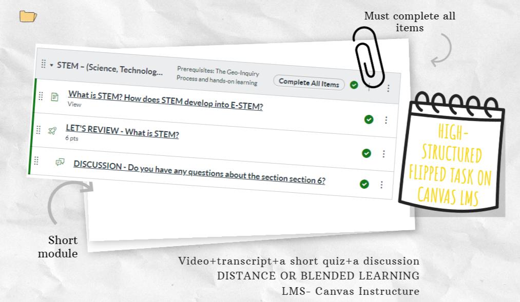flipped learning professional development