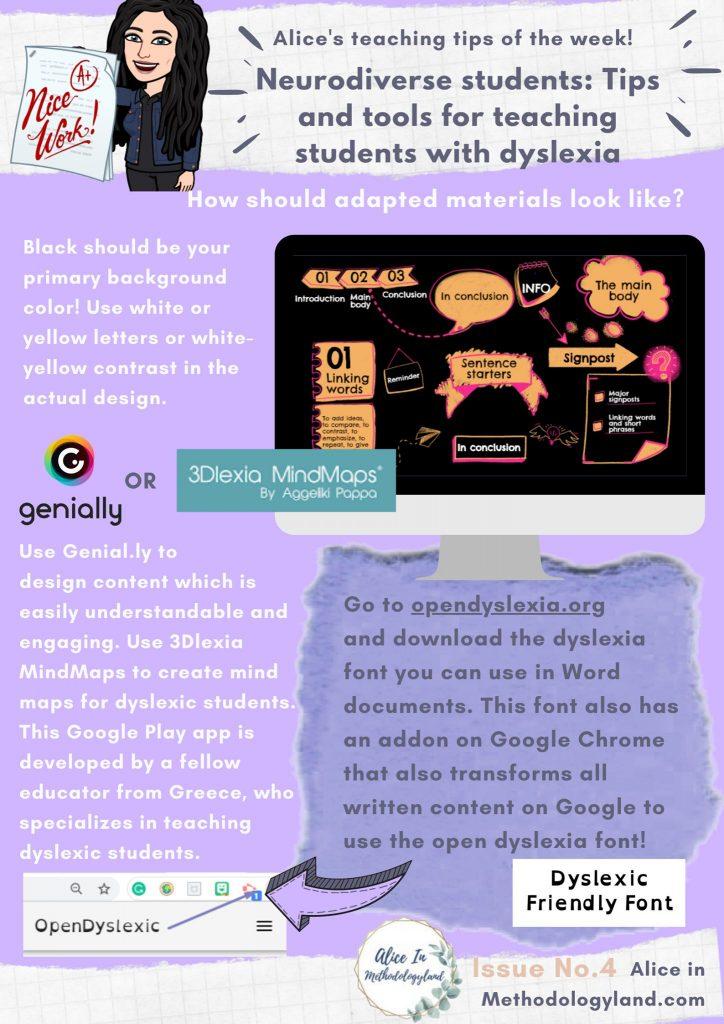tips tools teaching students dyslexia