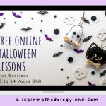 4 Free Online Halloween-themed Lessons for Children Learners and Teenagers