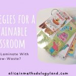 How to Laminate With a Low-Waste? – Strategies for a Sustainable Classroom