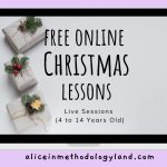 4 Free Online Christmas-themed Lessons for Children and Teenagers