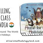 Christmas Around  The World: Home for the Holidays Storytelling with a Class from India 🌎🎄