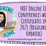 FREE Online ELT Conferences with Certificates in 2021 (Regularly Updated)
