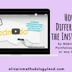 How to Make a Student Portfolio (on Edmodo) and Differentiate the Instruction