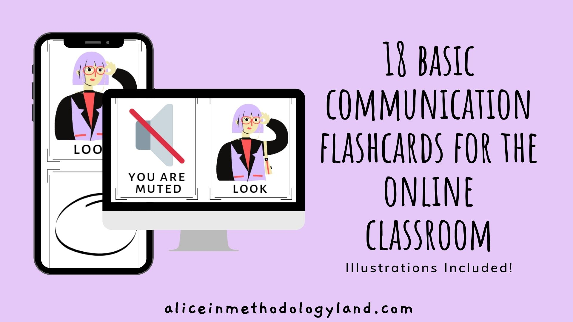 18 Basic Communication Flashcards for the Online Classroom
