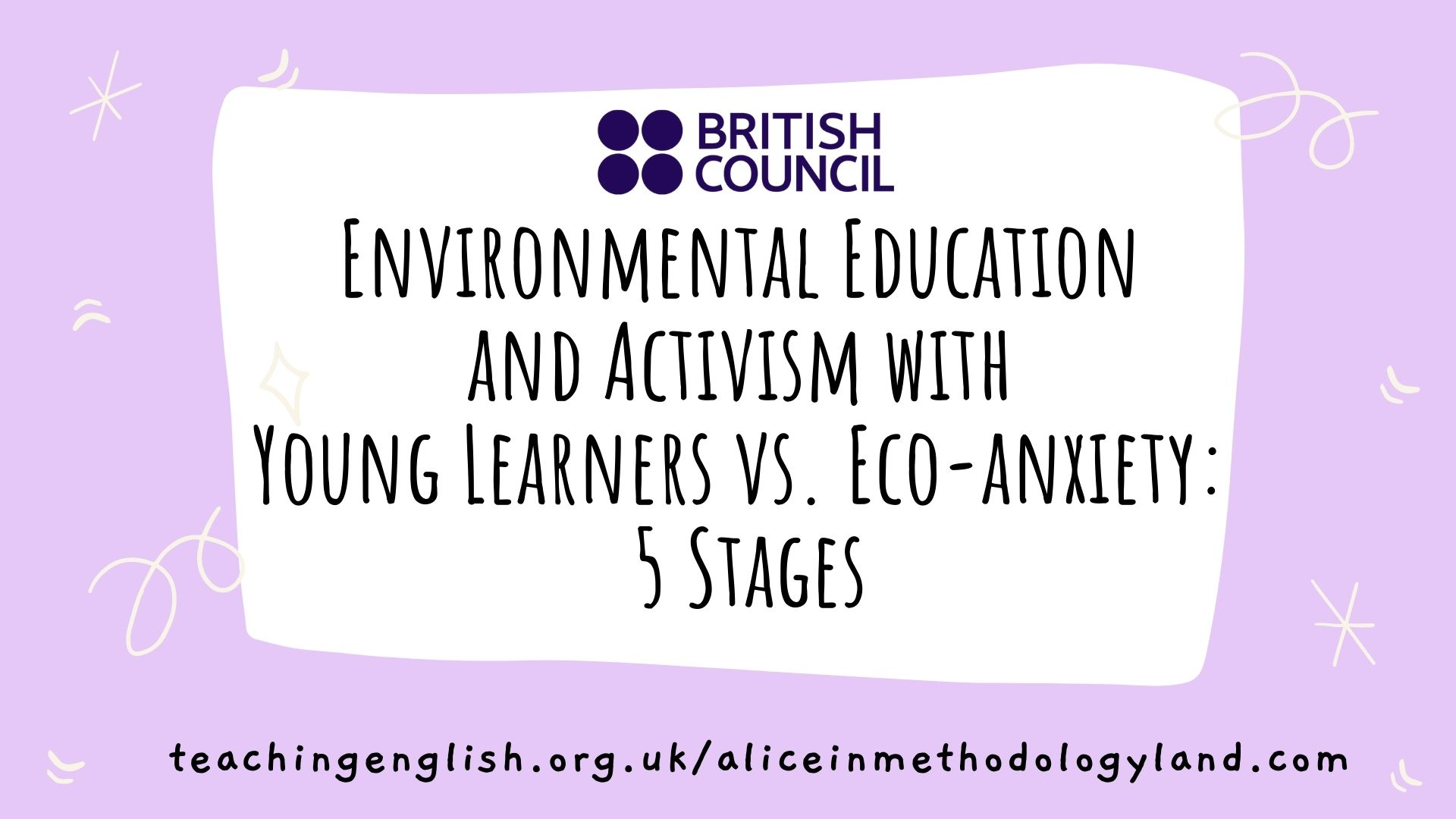 Environmental Education and Activism with Young Learners vs. Eco-anxiety: 5 Stages