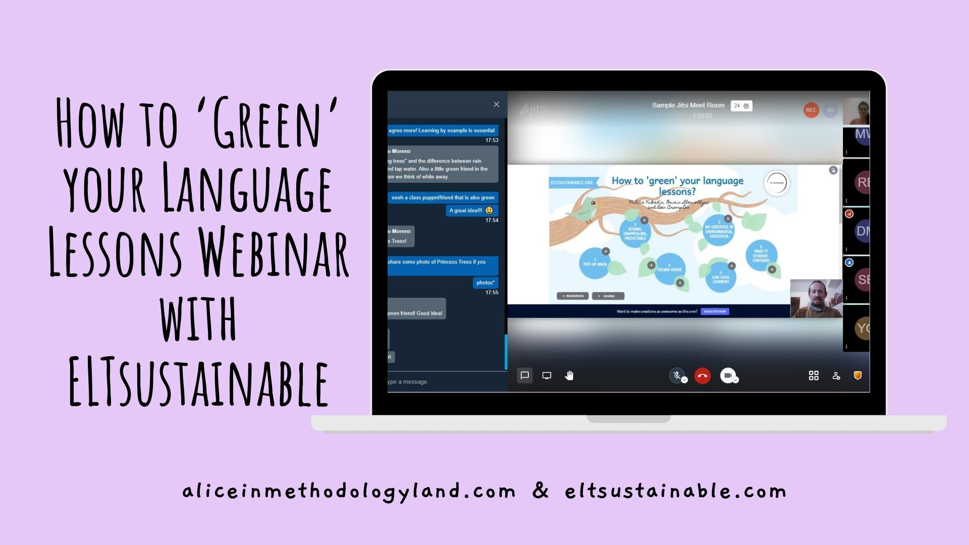 How to 'Green' your Language Lessons Webinar with ELTsustainable