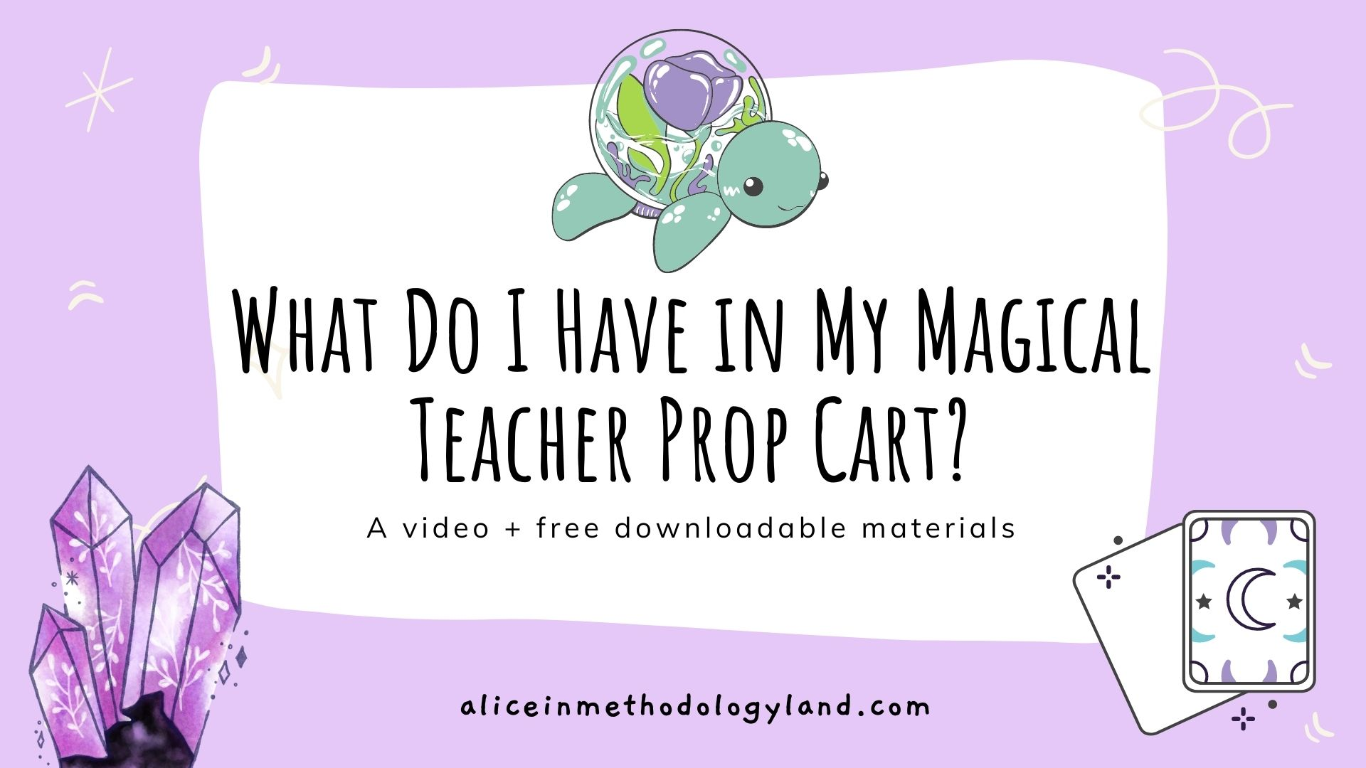 What do I Have in my Magical Online Teacher Prop Cart? ♥ Props!
