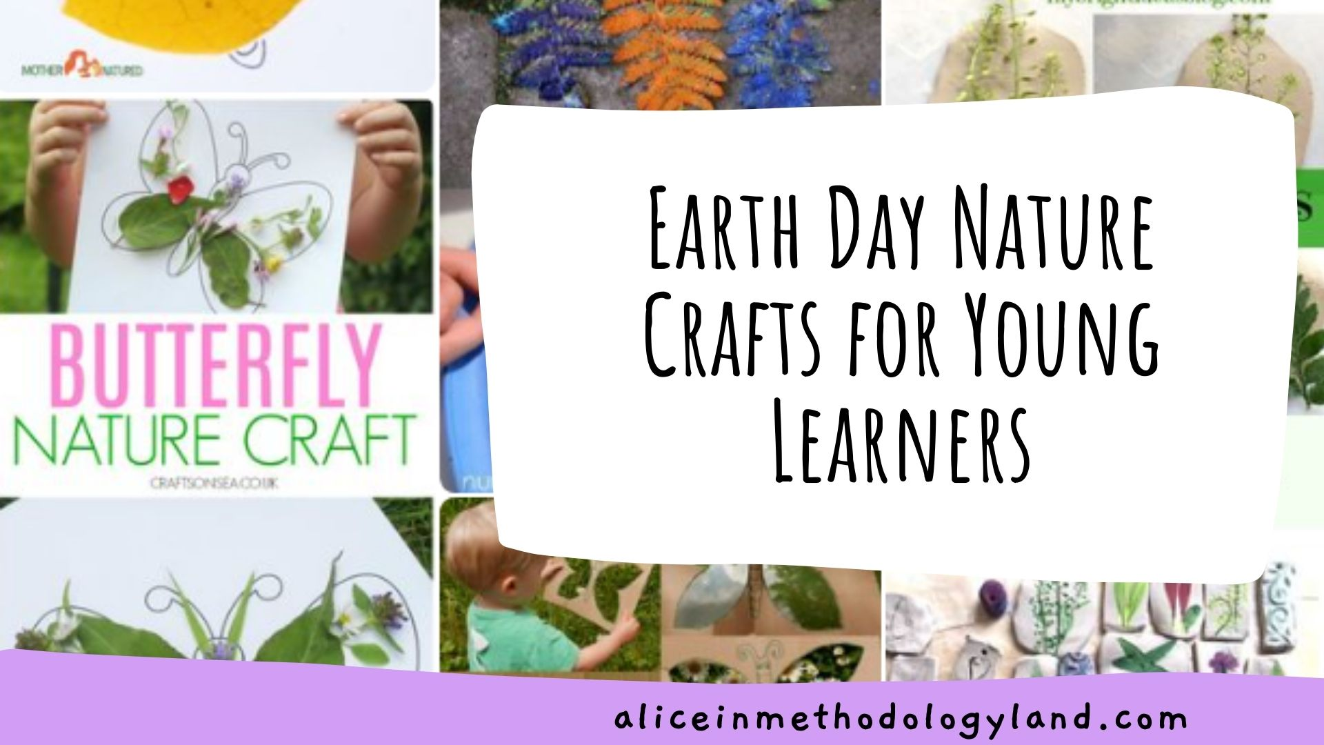🌎Earth Day Nature Crafts for Young Learners