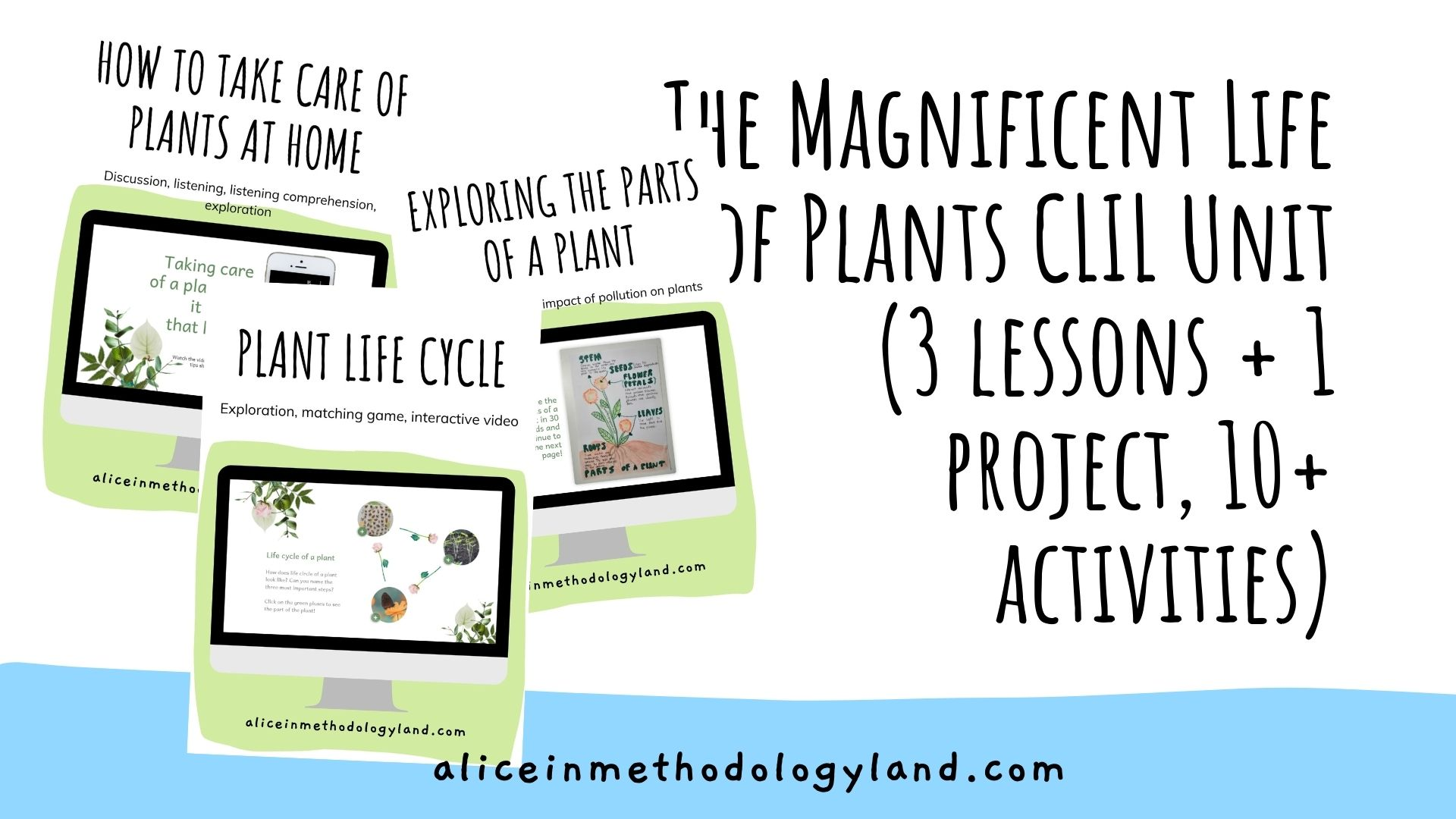 🌎The Magical World of Plants – (Mother) Earth Day Celebration Unit for Young Learners
